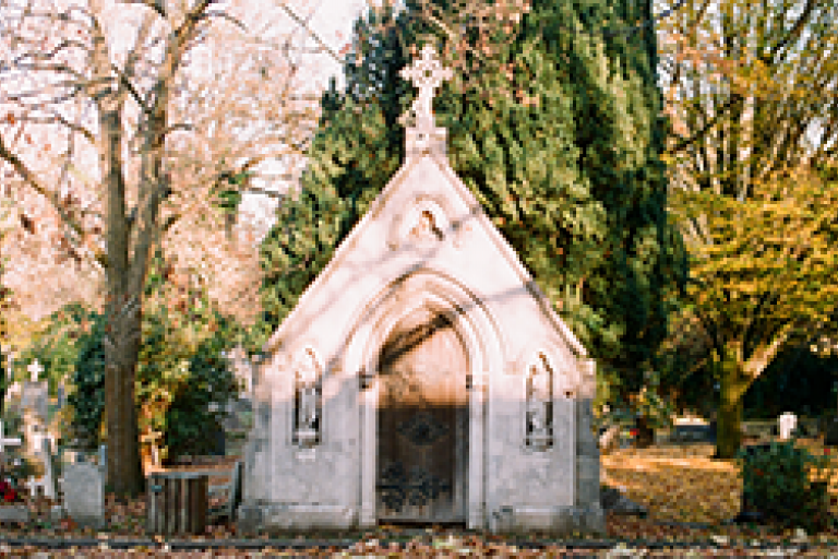 Mausoleum at West Norwood Cemetery